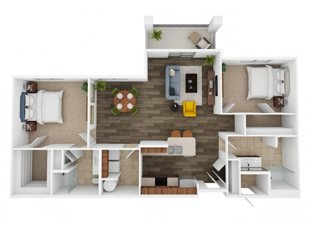 saladin 3d floor plan