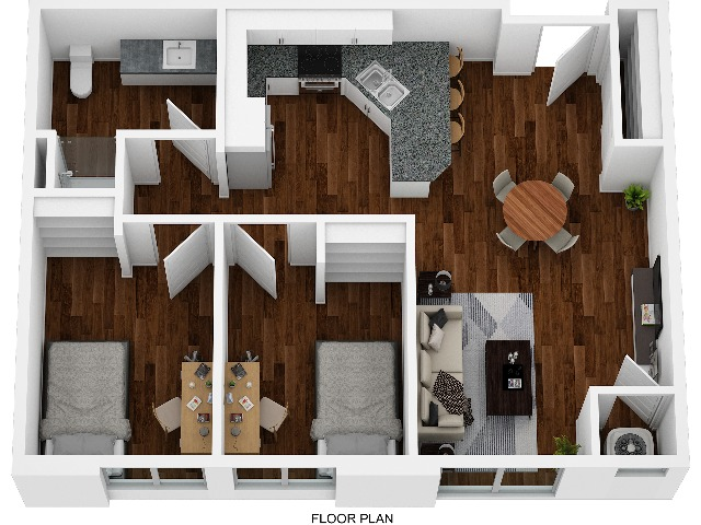 Awesome 2 Bed 1 Bath