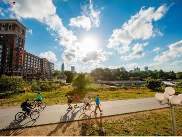 Image of Atlanta Beltline Eastside Trail for The Lofts at Atlantic Station