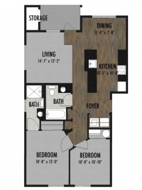 Claystone Floor Plan