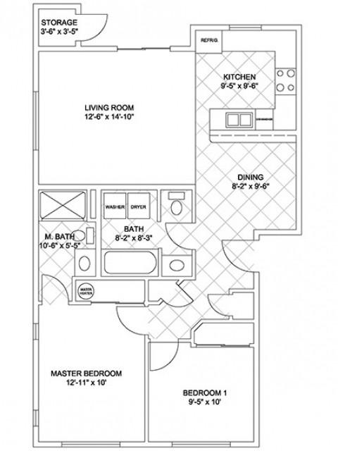 Two Bedroom (Cascade Ridge)