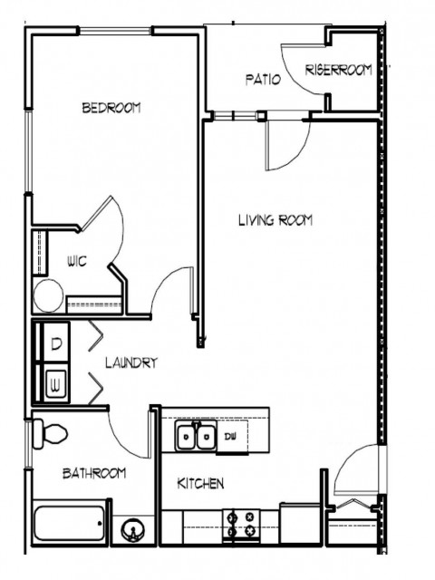 One Bedroom (Cascade Ridge III)