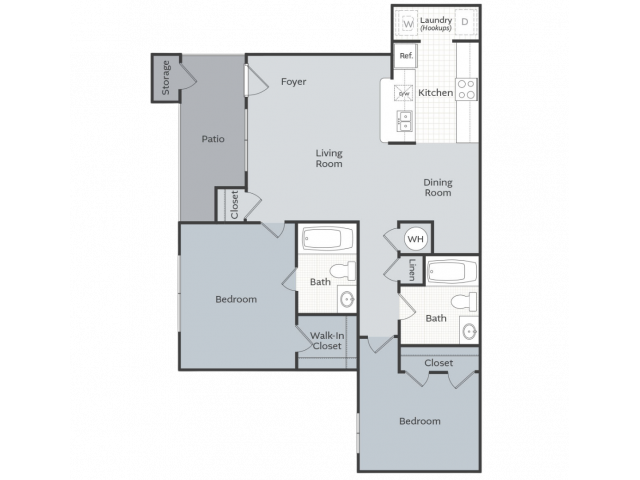 2 Bedroom Apartment Conway AR