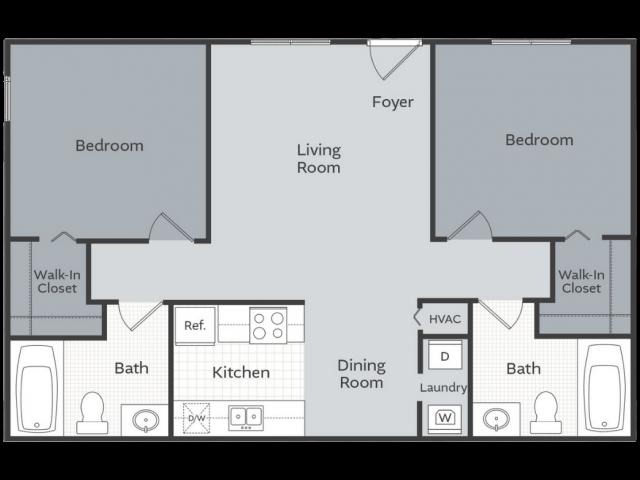 2 Bedroom Apartment Little Rock AR