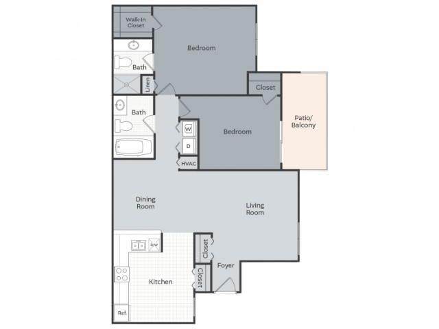 The Promenade - 1112 square feet