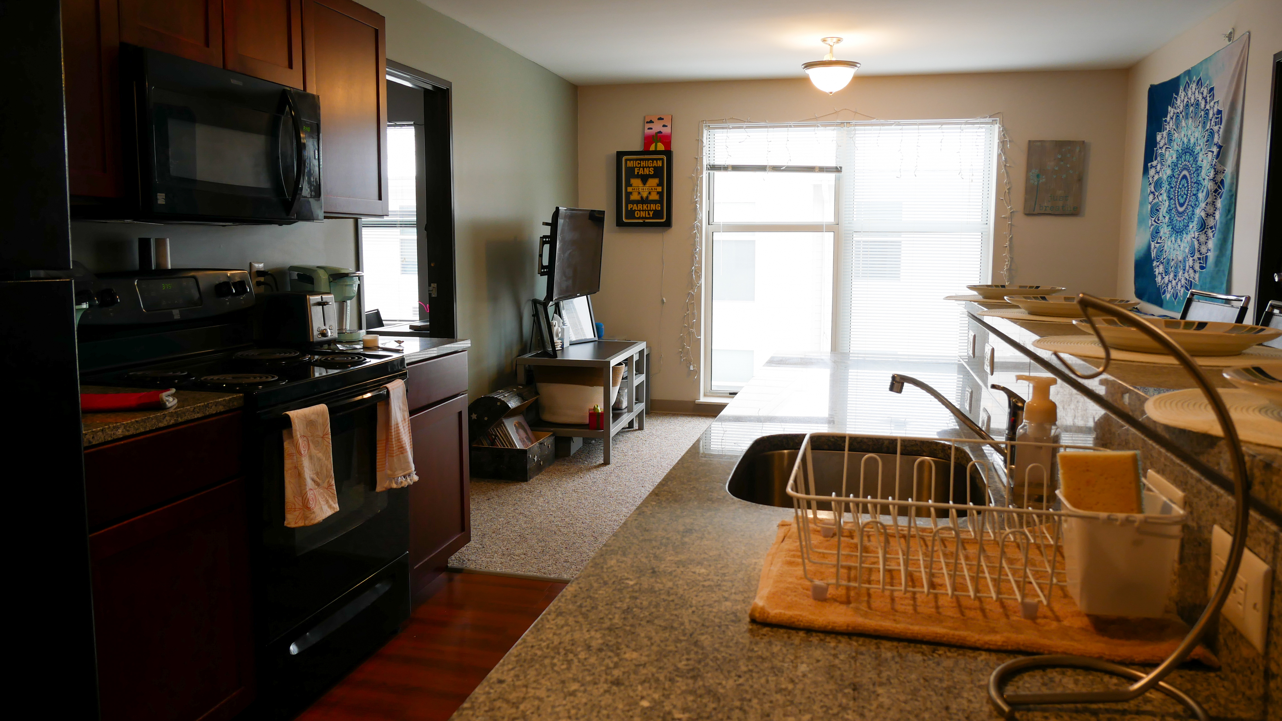 Triple with Private Bath | The Union at Dearborn | Dearborn Apartments