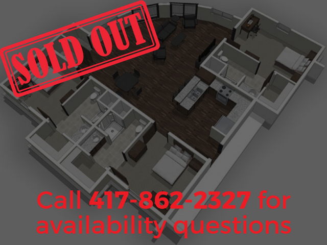 3 Bedrooms- SOLD OUT