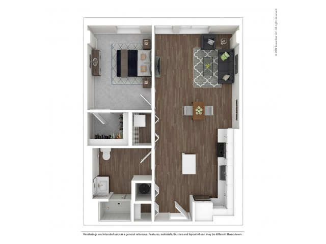 A3 - One Bedroom