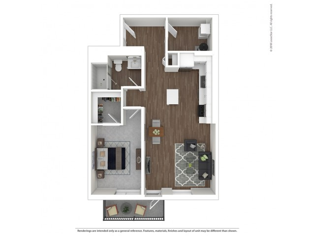 A5 - One Bedroom