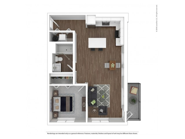 A6 - One Bedroom