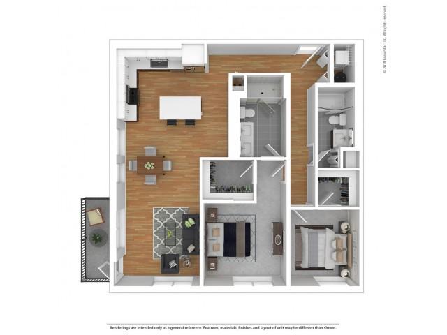 B3 - Two Bedroom