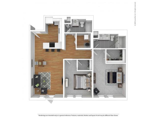 B5 - Two Bedroom
