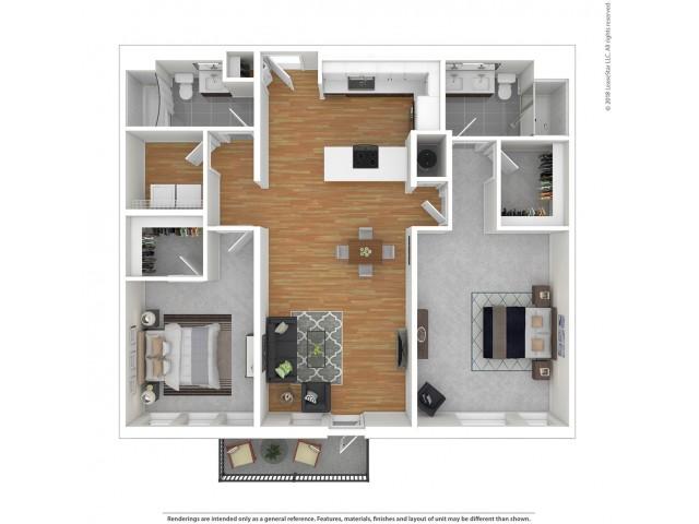 B6 - Two Bedroom