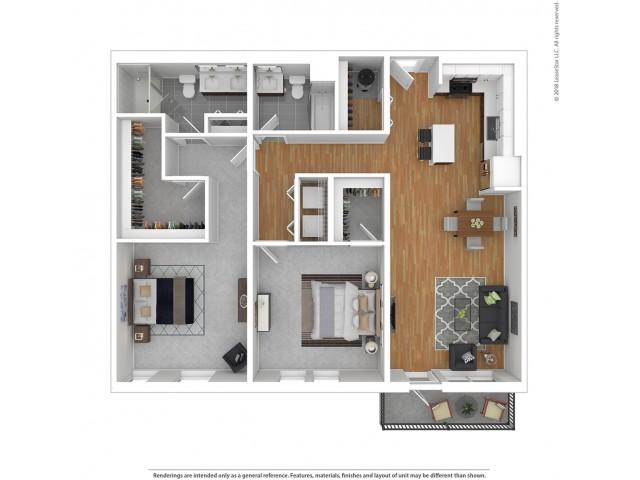 B7 - Two Bedroom