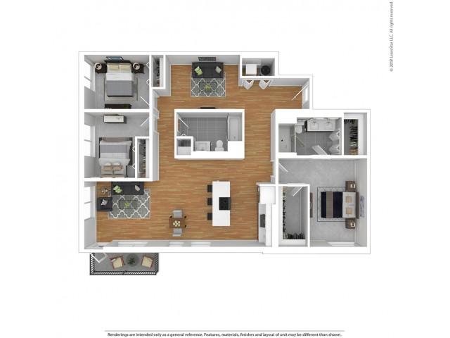 C3 - Three Bedroom