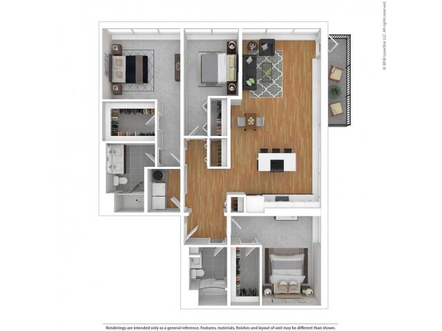C4 - Three Bedroom