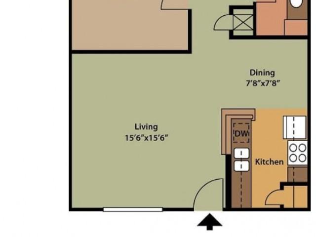 1x1 727 sq ft
