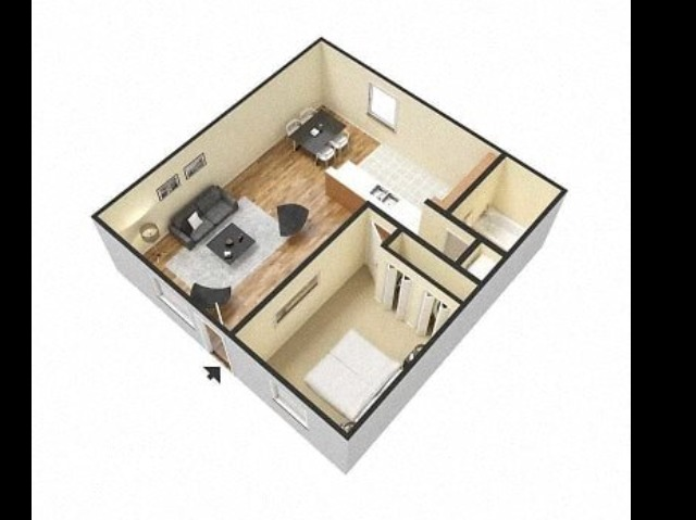 Haven on the Rails A1U One Bedroom