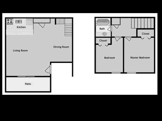 Midtown on Seneca B1 Two Bedroom