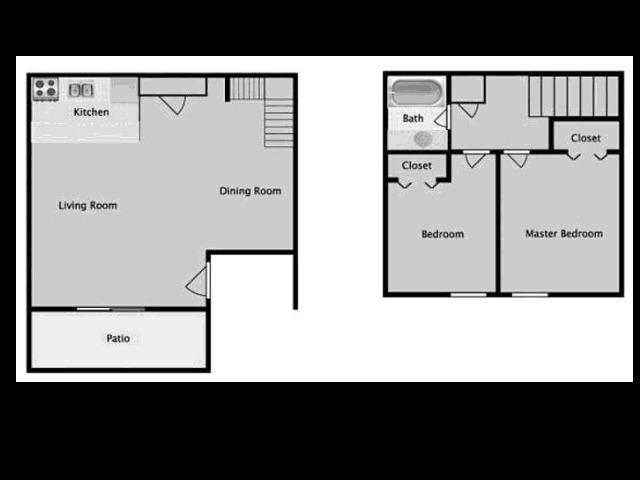 Midtown on Seneca B1P Two Bedroom