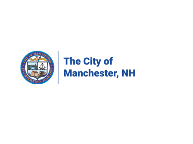 Logo City of Manchester - Lake Massabesic recreation close to Colonial Village apartments.
