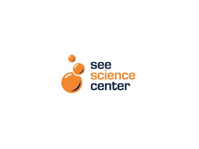See Science Center Logo - attraction near Colonial Village apartments in Manchester, NH.