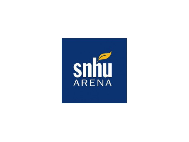SNHU Arena Logo - facility near Colonial Village apartments.