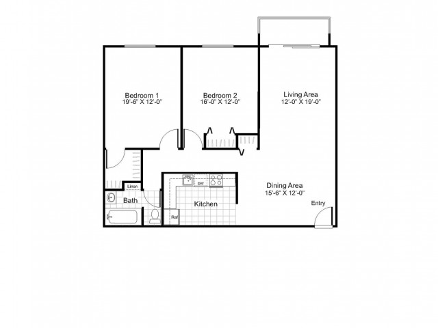B1B  | Colonial Village Apartments | Apartments in Manchester NH