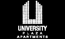 Logo | University Plaza  | Apartments Near NIU
