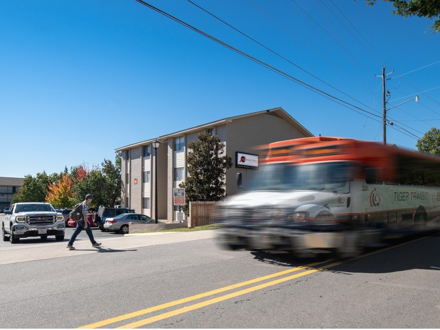 Two Tiger Transit Stops | Eagles West | Auburn Student Apartments