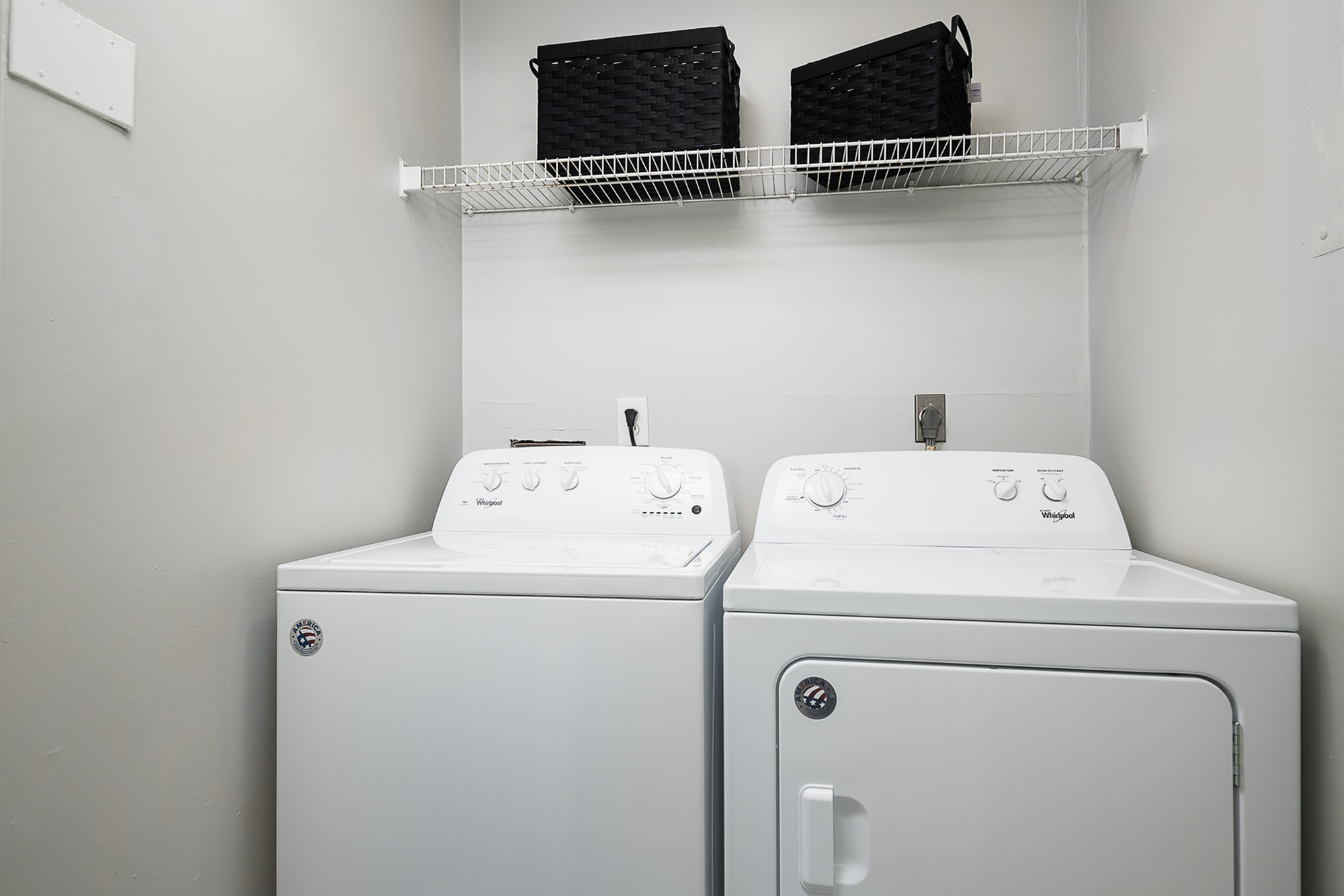 Washer/dryer in apartment at The Mark at Lexington, off-campus housing in Lexington, KY