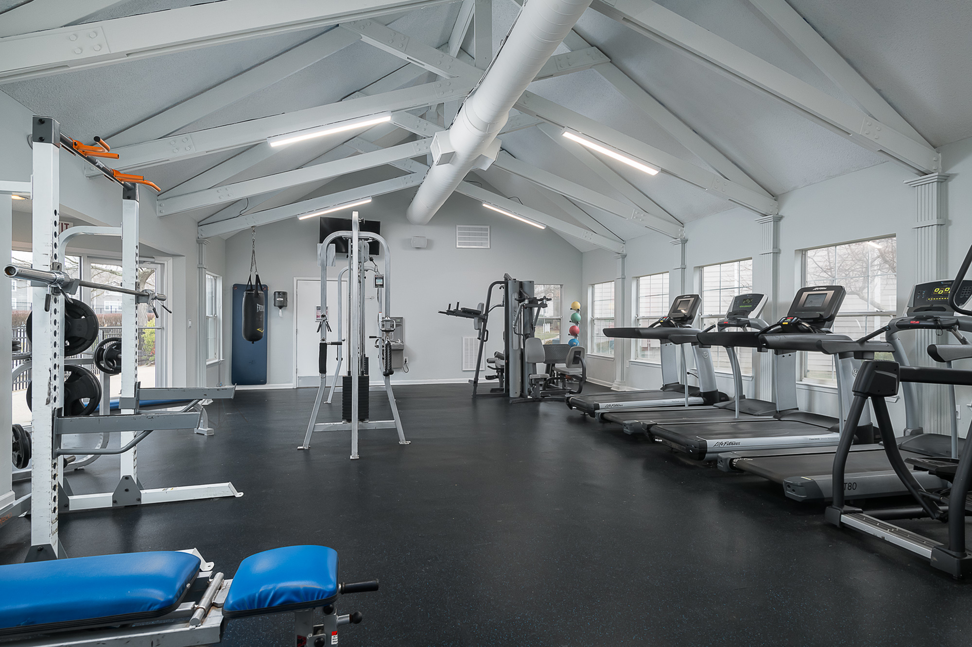 24/7 Accessible Gym at The Mark at Lexington UKY Off-campus housing.