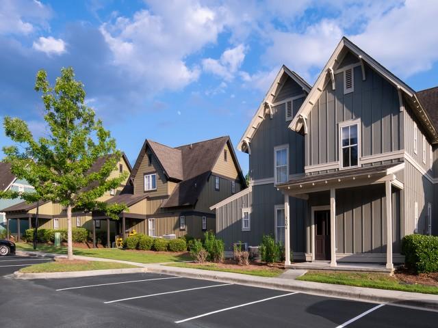 Sidewalk | The Cottages of Hattiesburg | Apartments In Hattiesburg MS