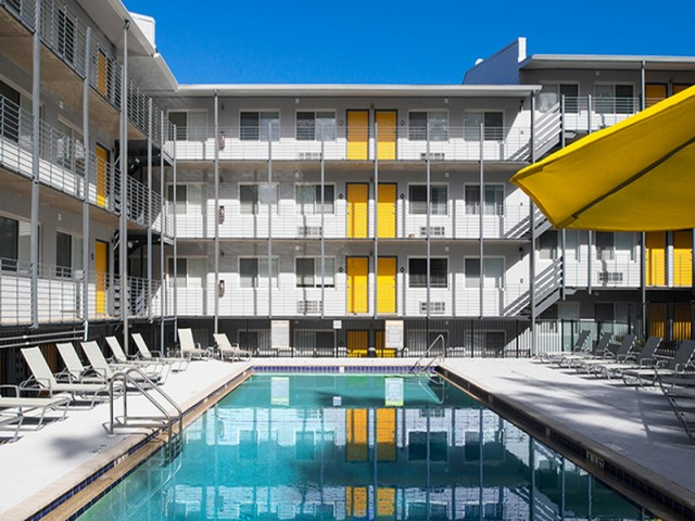 2 Sparkling Pool | Legacy Student Living | Tallahassee Student Apartments