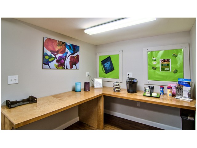 Complimentary Coffee Bar | University Apartments - Chapel Hill | Apartments Near UNC Chapel Hill