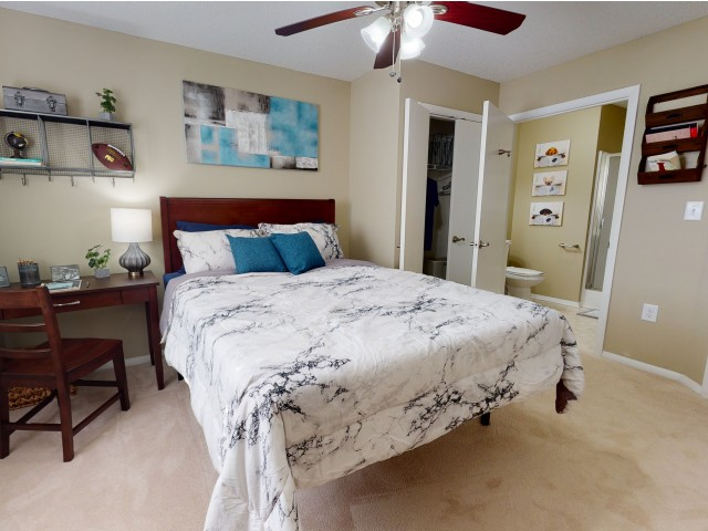 Elegant Bedroom | University Park | Greenville NC Apartments