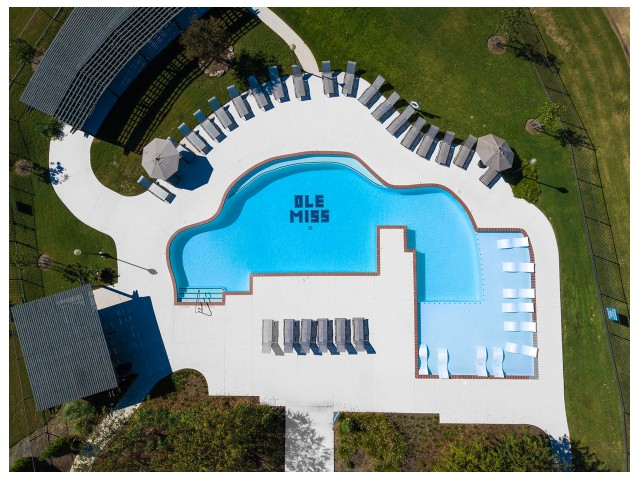Swimming Pool | Flatts at South Campus | Student Housing Oxford MS