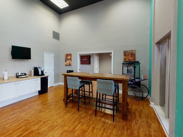 Complimentary Coffee Bar | University Village | SIU Apartments