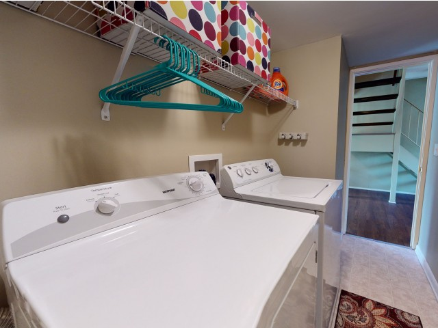 In Apartment Washer and Dryer | University Village | Apartments In Carbondale IL Near SIU
