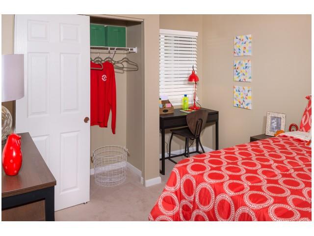 Carpet | Spacious Bedroom | Hawks Landing | Apartments In Oxford Ohio