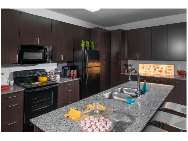 Appliances Spacious Kitchen | The Cardinal at West Center | Fayetteville AR Apartments
