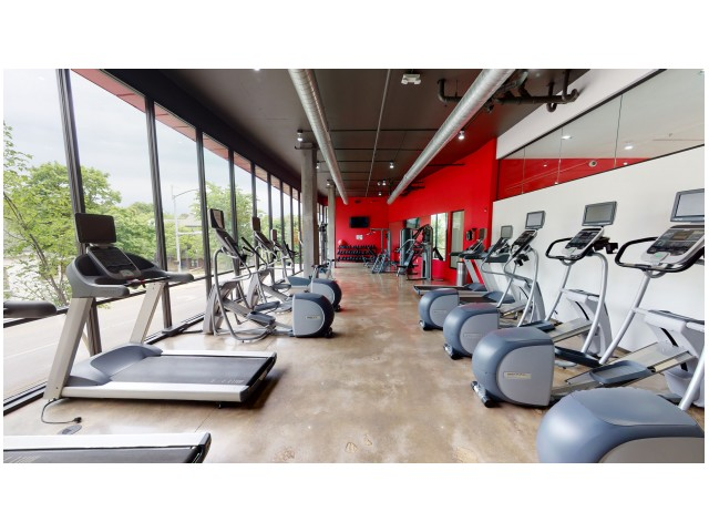 Resident Fitness Center | The Cardinal at West Center | Apartments In Fayetteville Ar