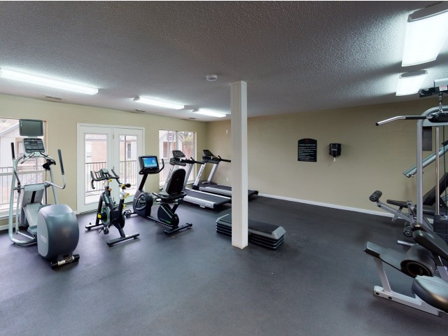 2-Story Resident Fitness Center | Raiders Walk | Student Apartments Lubbock