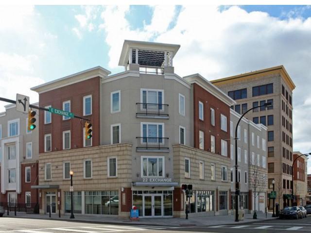Street View   22 Exchange   Akron Apartments