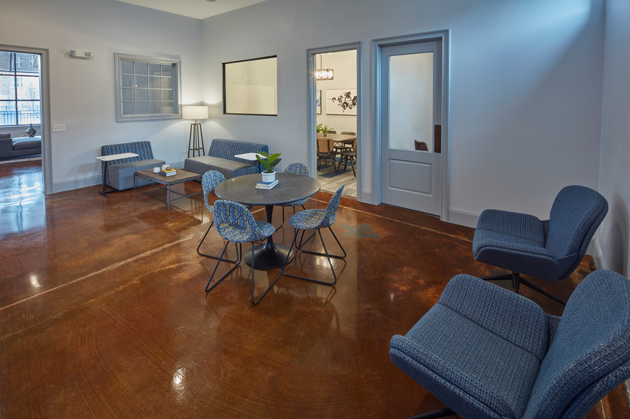 Social Lounge at Trifecta Apartments | Louisville, KY Apartments