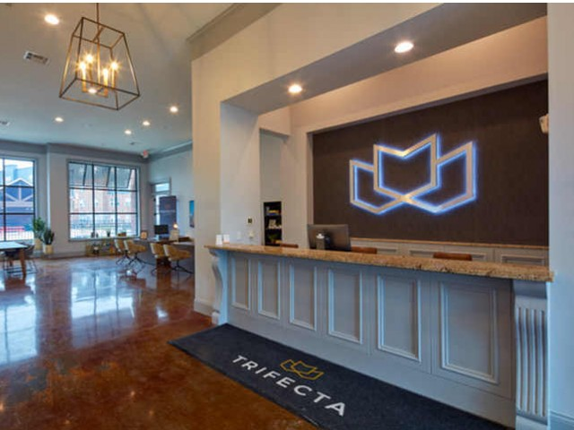 Front Desk at Trifecta Apartments | Student Apartments In Louisville, KY.