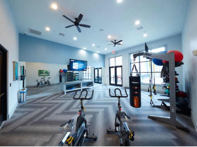 Fitness Center at Trifecta Apartments | Louisville, KY Apartments