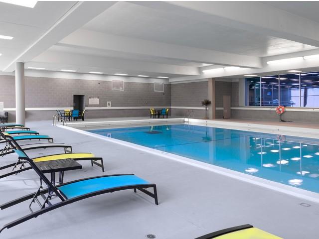 Sparkling Pool | University Plaza  | Apartments Near NIU