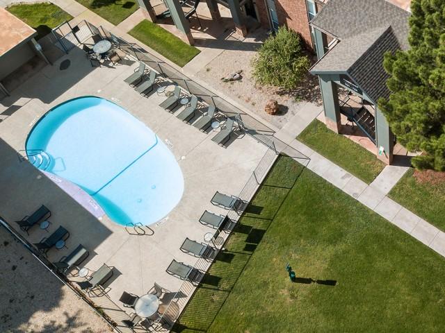 Saltwater Pool | Raiders Walk | Apartments Lubbock TX