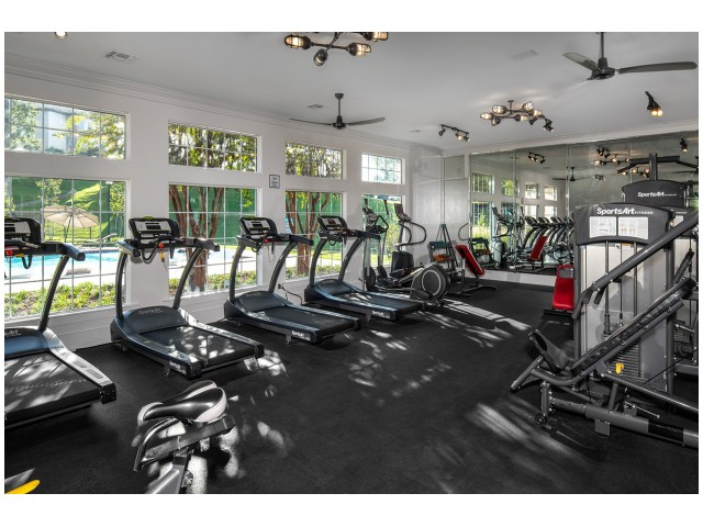 Resident Fitness Center | Flatts at South Campus | Off Campus Apartments Oxford MS